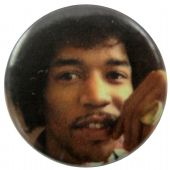 Jimi Hendrix - 'Jimi Hand' Button Badge